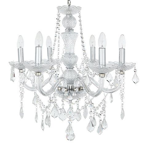 Bethany chandelier 6 arm lighting online john lewis and ceiling buy john lewis bethany chandelier 6 arm from our ceiling lighting range at john lewis mozeypictures Choice Image