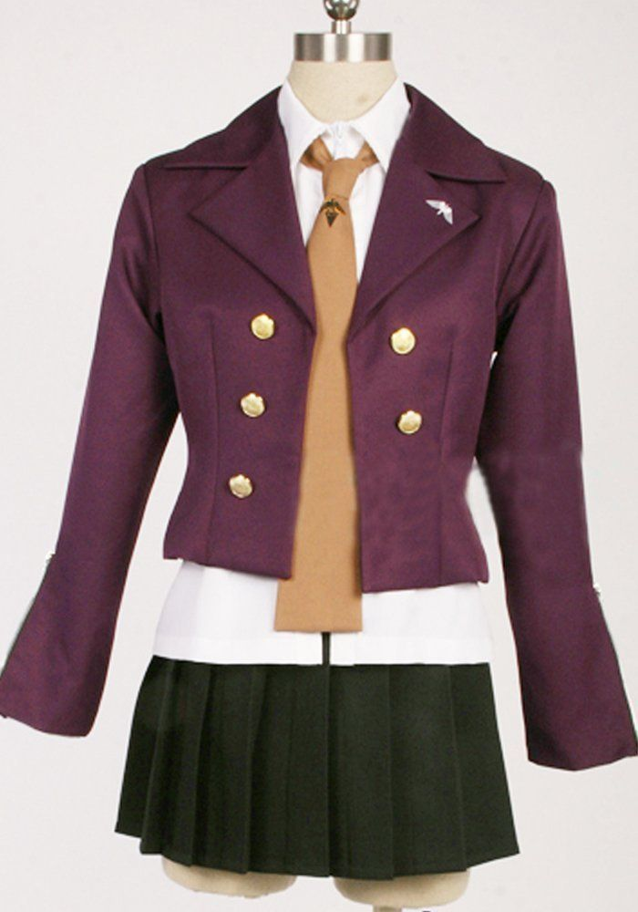 Camplayco Dangan Ronpa 2 Kirigiri Kyouko Cosplay Costume-made >>> Read more at the image link.