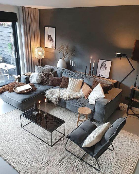 62 moderne Deko-Ideen fürs Wohnzimmer – Seite 33 von 62 – Maria Lemper