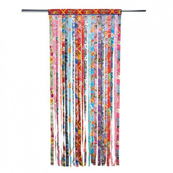 rideau de porte en lani res de toile cir e rideaux pinterest rideaux de porte toile. Black Bedroom Furniture Sets. Home Design Ideas