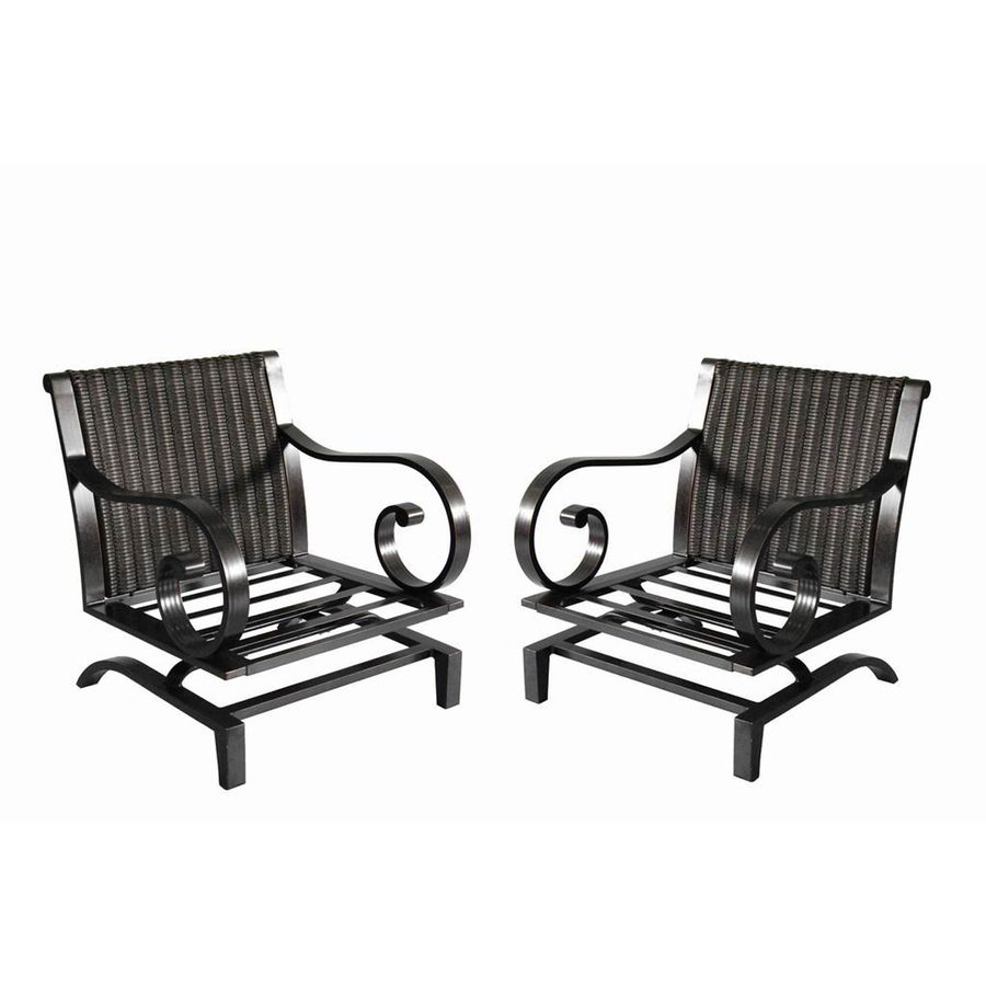 Shop allen + roth Set of 2 Pardini Oil Brown Extruded