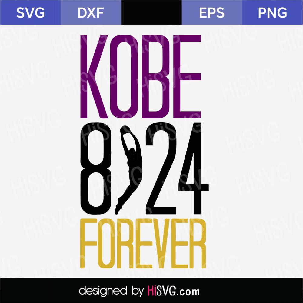 Kobe Bryant 24 8 SVG png jpg download autograph Los