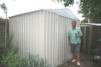 Glenns new shed