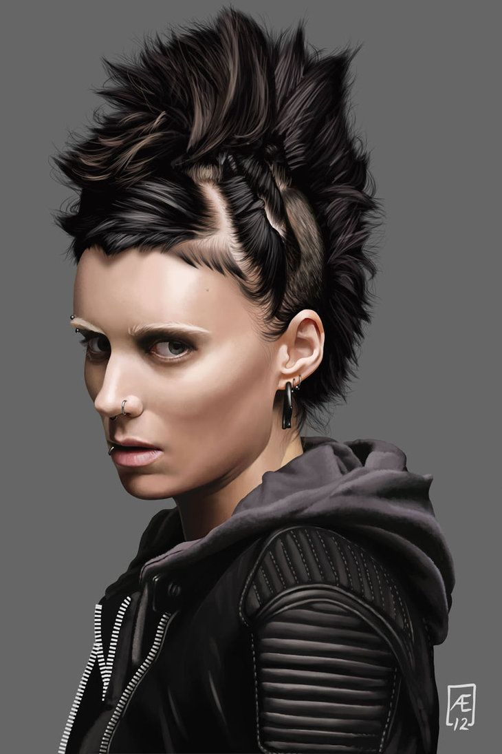The Girl With The Dragon Tattoo By Aedrian On Deviantart The