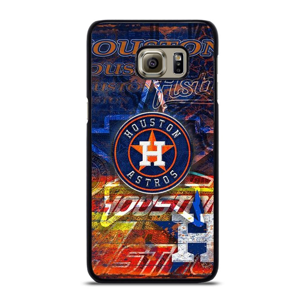 HOUSTON ASTROS MLB ICON 2 Samsung Galaxy S6 Edge Plus Case