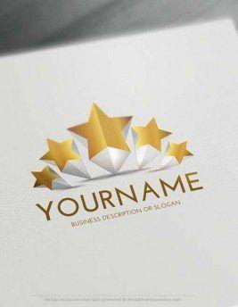 Free 3d logo maker create 5 stars logo design online online shop free 3d logo maker create 5 stars logo design online colourmoves