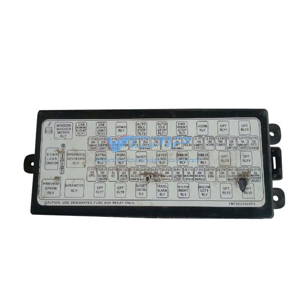 SK250-8 Kobelco Excavator Relay Assembly YN73E01024P2 | Fuse box,  Excavator, Replacement partsPinterest