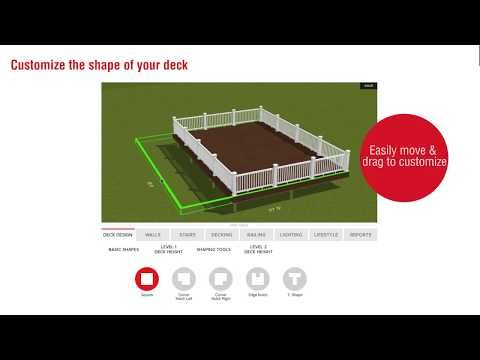Free Deck Design Tool Use Fiberon S Deck Designer Software To