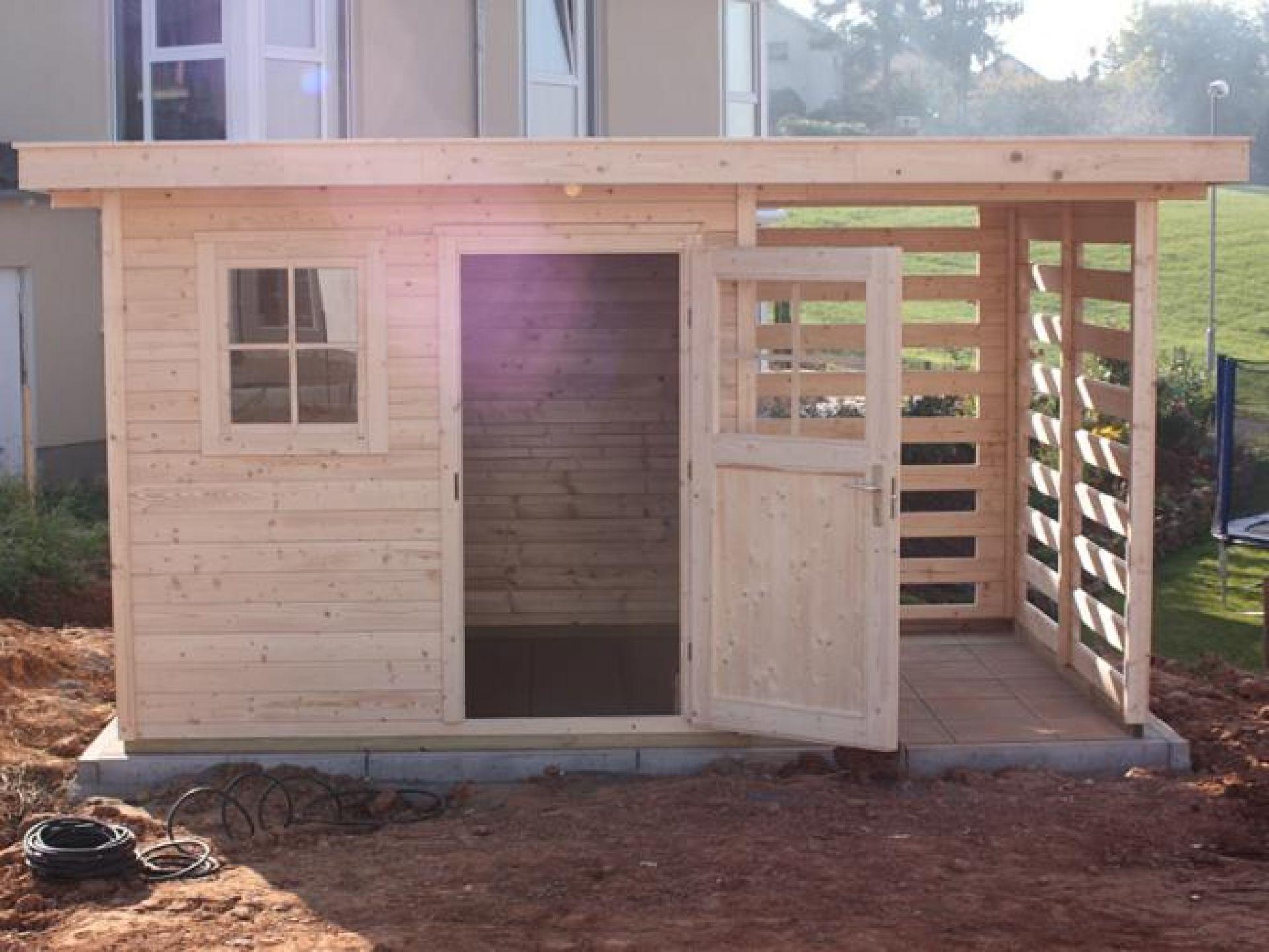 Gartenhaus selber bauen – WEKA-Bausatz | WEKA Holzbau
