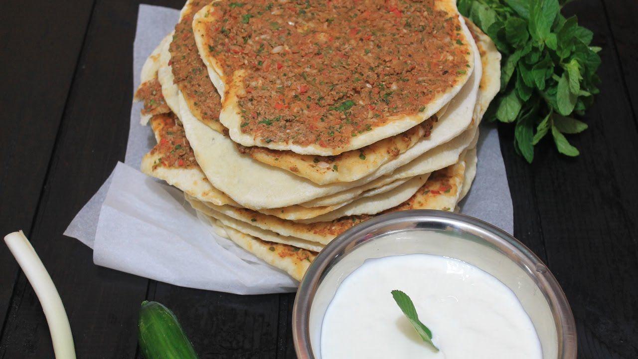 طريقة عمل لحم بعجين بدون فرن بطريقة إحترافية صفيحة Youtube Food Arabic Food Breakfast