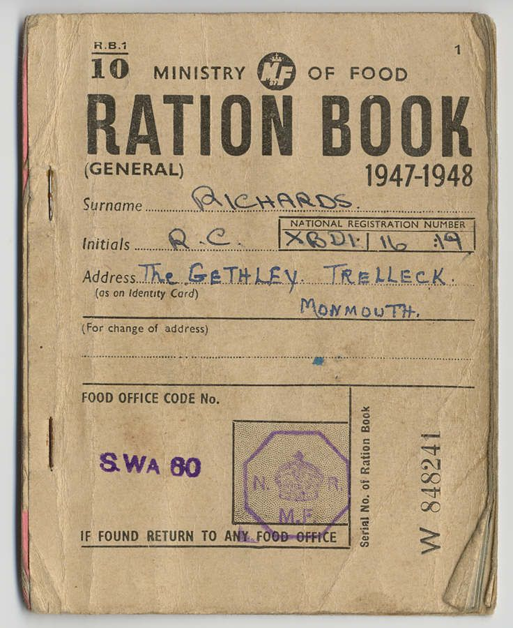 Most of the period of rationing in the UK was after WWII (1945 ...