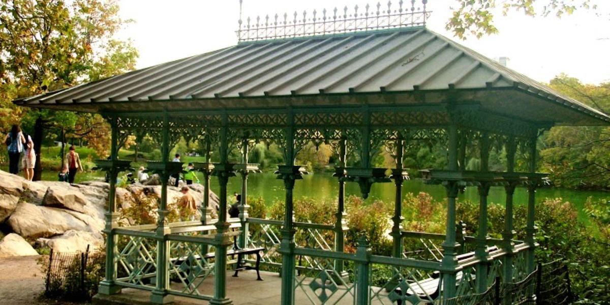 Central Park Ladies Pavilion Weddings
