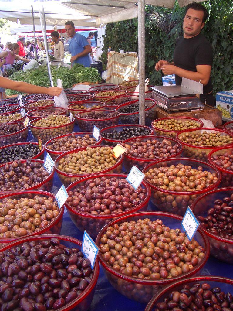 η ελιά olives Greek recipes, Street food market, Food