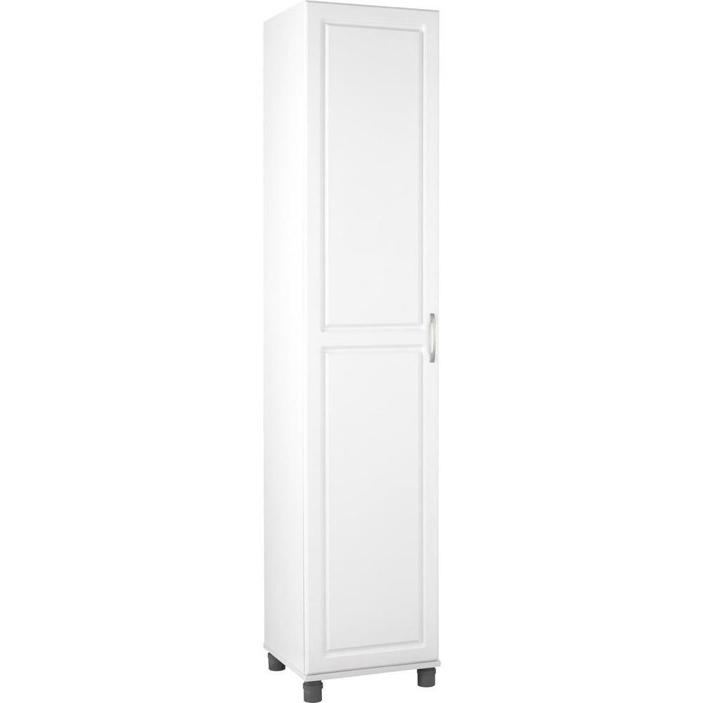 Systembuild Kendall White Storage Cabinet 7360401pcom White