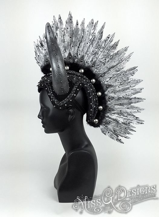 Every single headpiece is 100% vegan and hand made with love.  Browse through Miss G's other amazing collections: