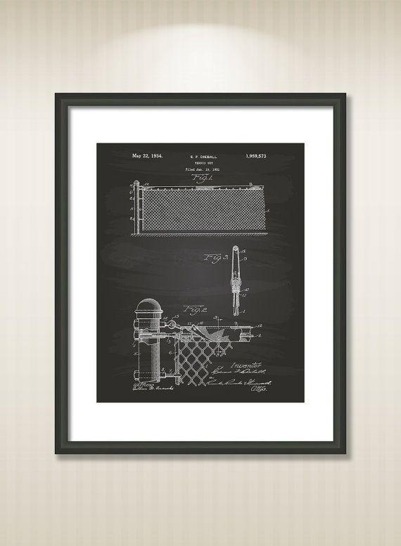 Tennis Net 1931 Patent Art Illustration  Drawing  by TawerArt