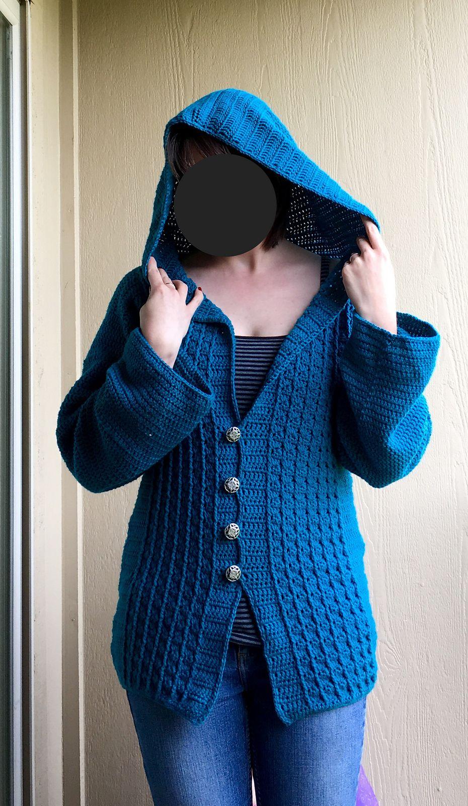 8405586eadc07 Overcast Sweater. Hooded JacketSweaterPattern LibraryAlbumRavelryCrochetingPatternsSweater  CardiganChrochet. Ravelry  Overcast Sweater by Maz Kwok