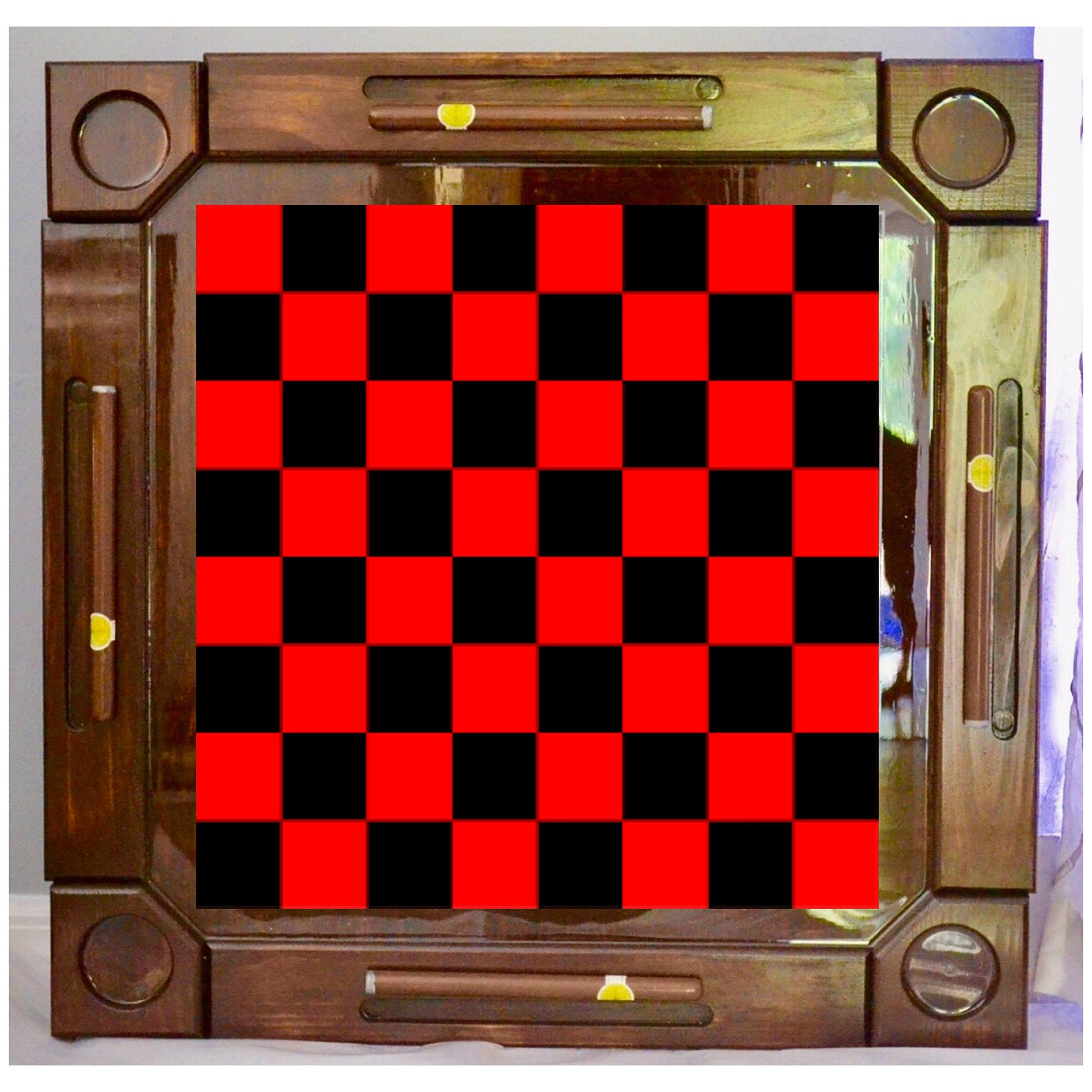 Wooden/wood Dominoes/domino Table/mesa Custom Made Checkers/Dama Made In  USA. Made From Solid And Hight Quality Wood ,this Beautiful Dominoes Table  It Is ...