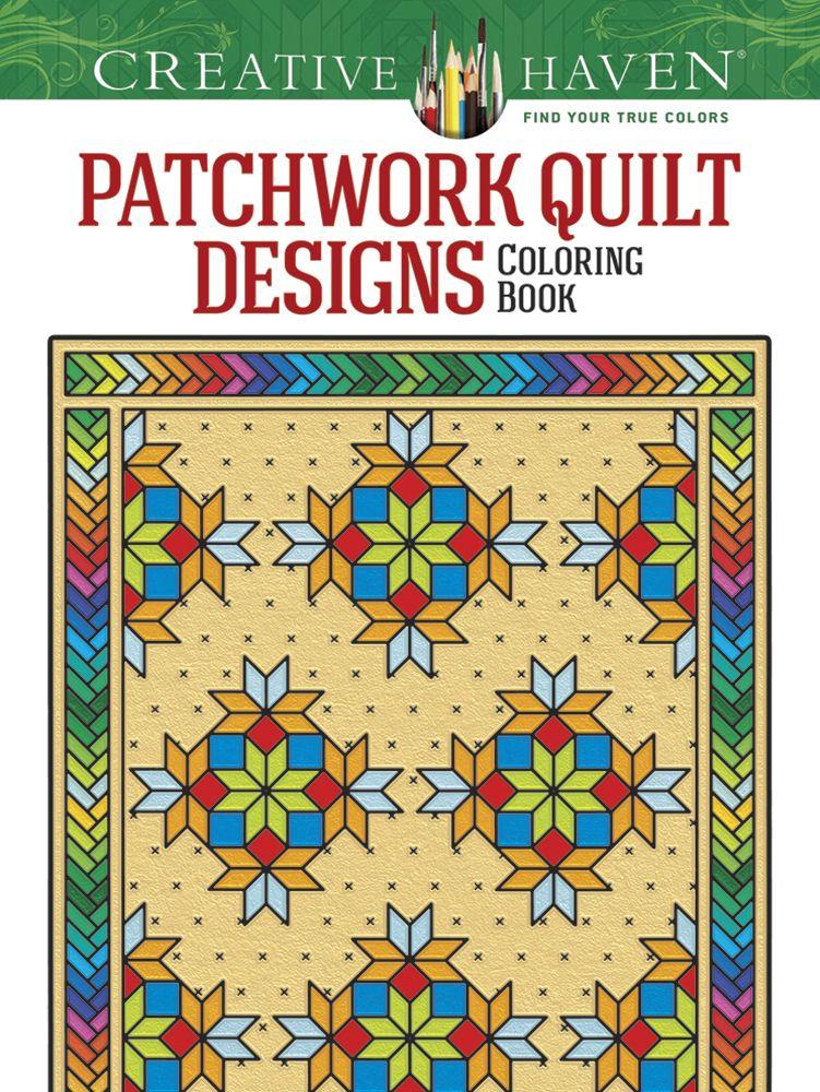 Creative Haven Patchwork Quilt Designs Coloring Book ...