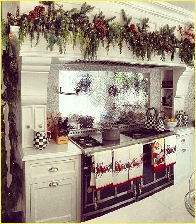 top kitchen cabinet christmas decorating ideas cfxq beautiful idea