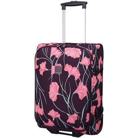 Tripp Express Poppy 2-Wheel Cabin Suitcase Grape/Pink | Debenhams ...