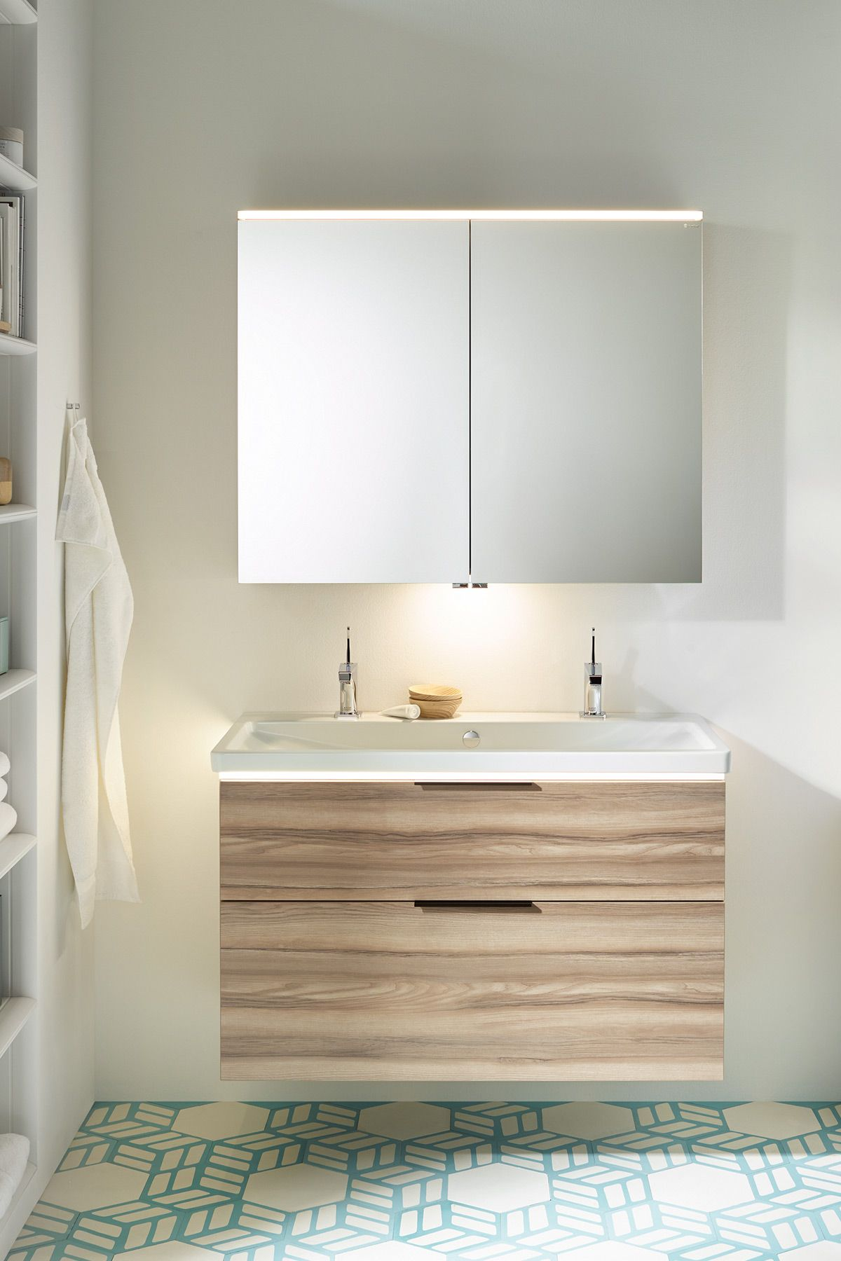 Space does matter. Bathroom collection burgbad eqio #SHK2018: new ...