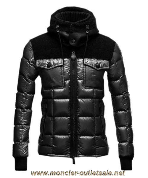 7e6366e9a0c2 Cheap Moncler Lazare Down Jacket Fashion Men Short Black