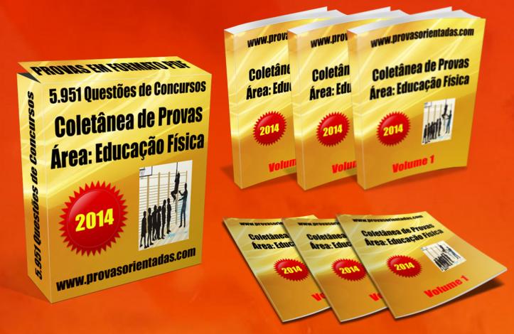 Coletânea Provas para Concursos - Professor de Educação Fisica