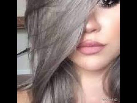 اصباغ الشعر اشقر رمادي افضل طريقه لصبغ الشعر اشقر رمادي تعليم صبغ الشعر اشقر رمادي خلطات طبيعية لصبغ الشعر اشقر رمادي خل Hair Grey Hair Dye Natural Hair Styles