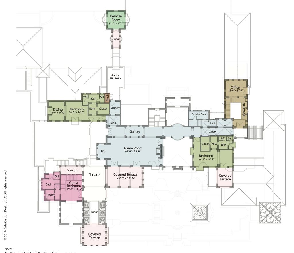 Mega Mansion Floor Plans: SCOTTSDALE ARIZONA MEGA-MANSION [04]