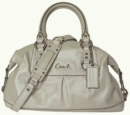 3655f9bbe1 ... coupon code for coach leather ashley sabrina satchel duffle bag purse  tote 15445 platium c81e6 68378