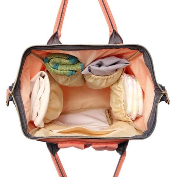 37926b7d469c LeQueen Color Block Diaper Backpack | Diaper Bags Packed with Style ...