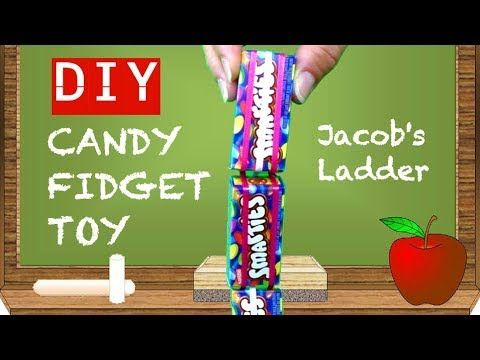 Candy Diy Fidget Toys Cool Toys To Make Diy Old School Fidget Toys