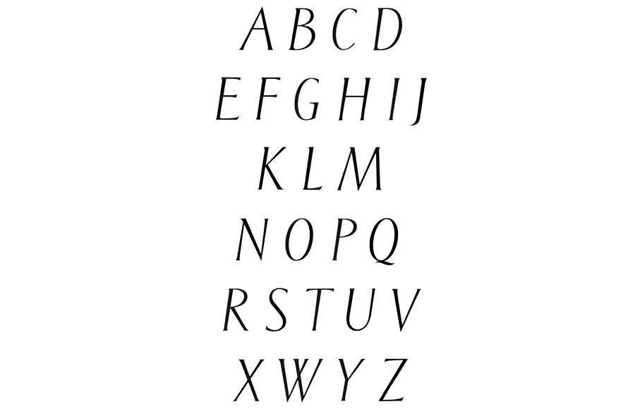typeface harmonieux