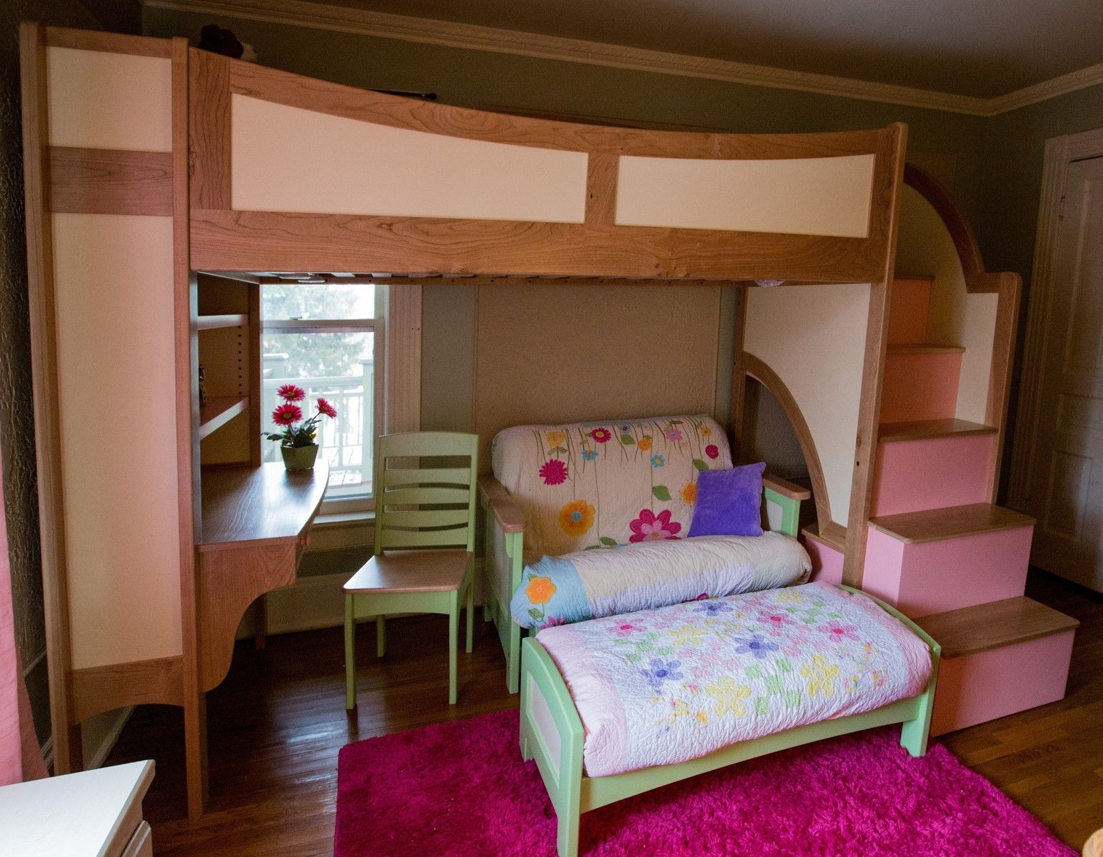 Best Loft Beds For Girls With Desk Bunk Bed With Desk Queen 640 x 480
