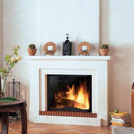 chemin e classique brisach calice 023 avec inesrt economique chemin es foyers gaz poeles. Black Bedroom Furniture Sets. Home Design Ideas