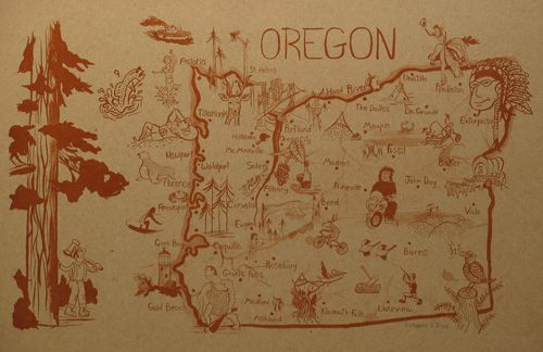 Portlandia is killing Portland for me, but I have to make a stop in Oregon.