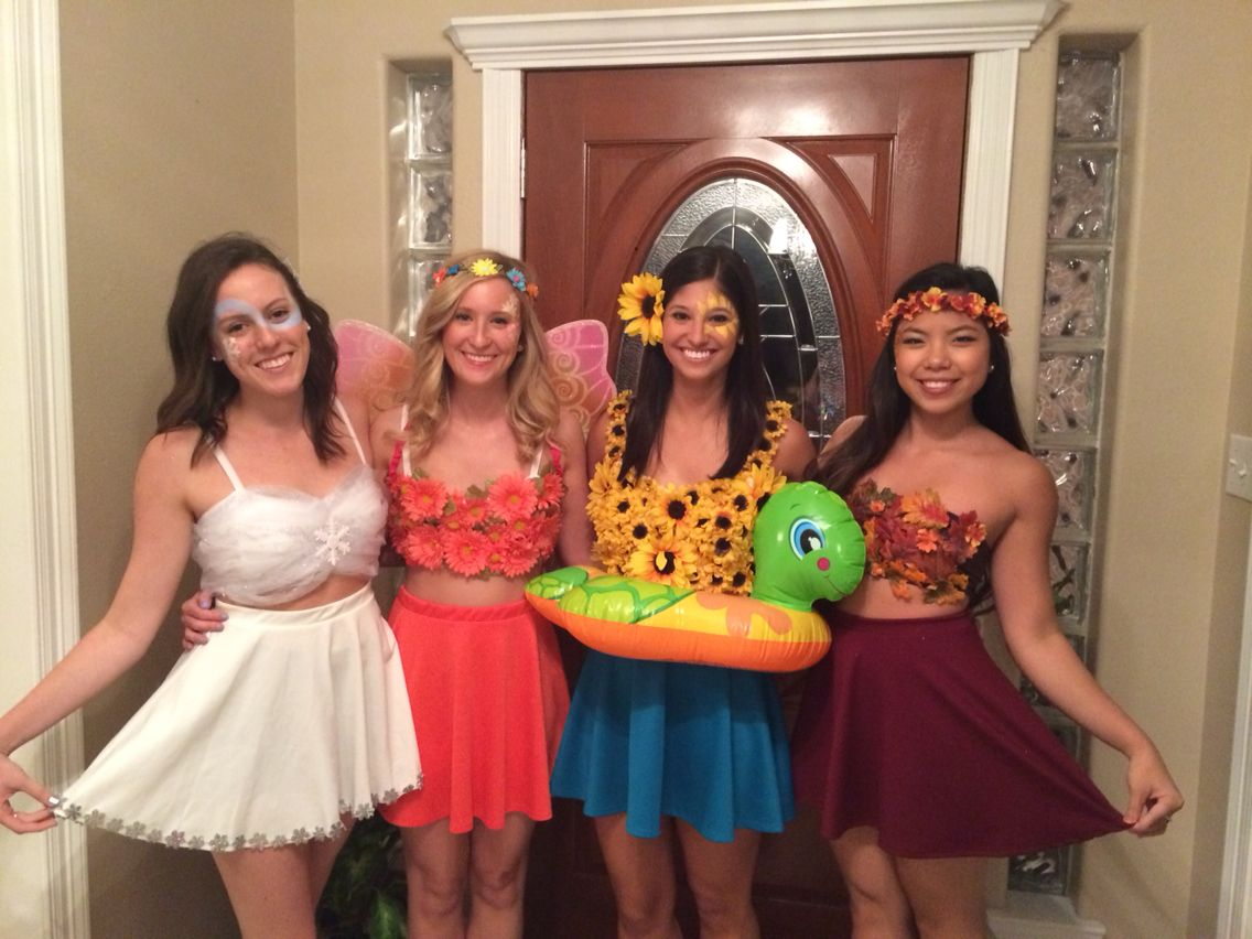 Four seasons group Halloween costume | Do.