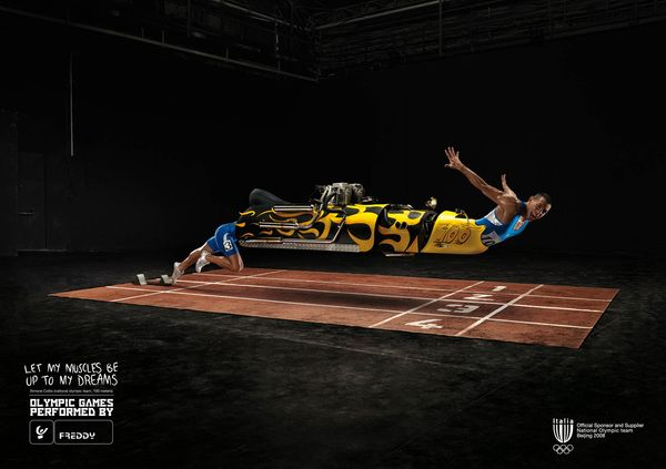 OLYMPIC GAMES Advertisement » Design You Trust – Design Blog and Community