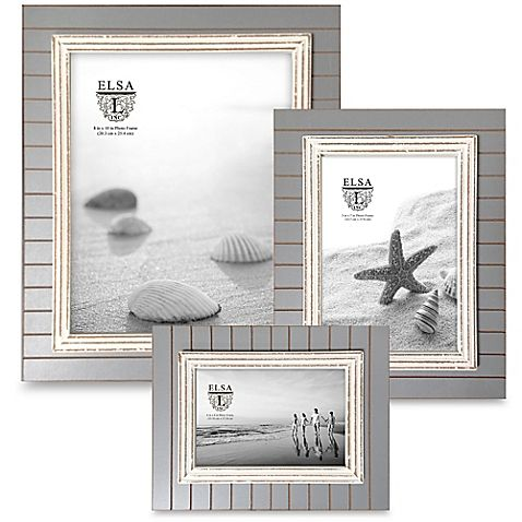 Elsa L Coastal Picture Frame in Grey/White | Sarah\'s Bedroom and ...