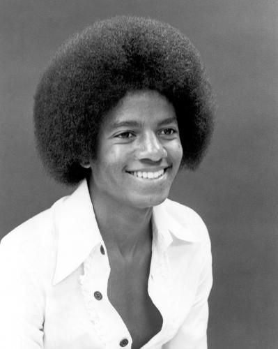 Young Michael Jackson With Afro Music Prints Sonic Editions