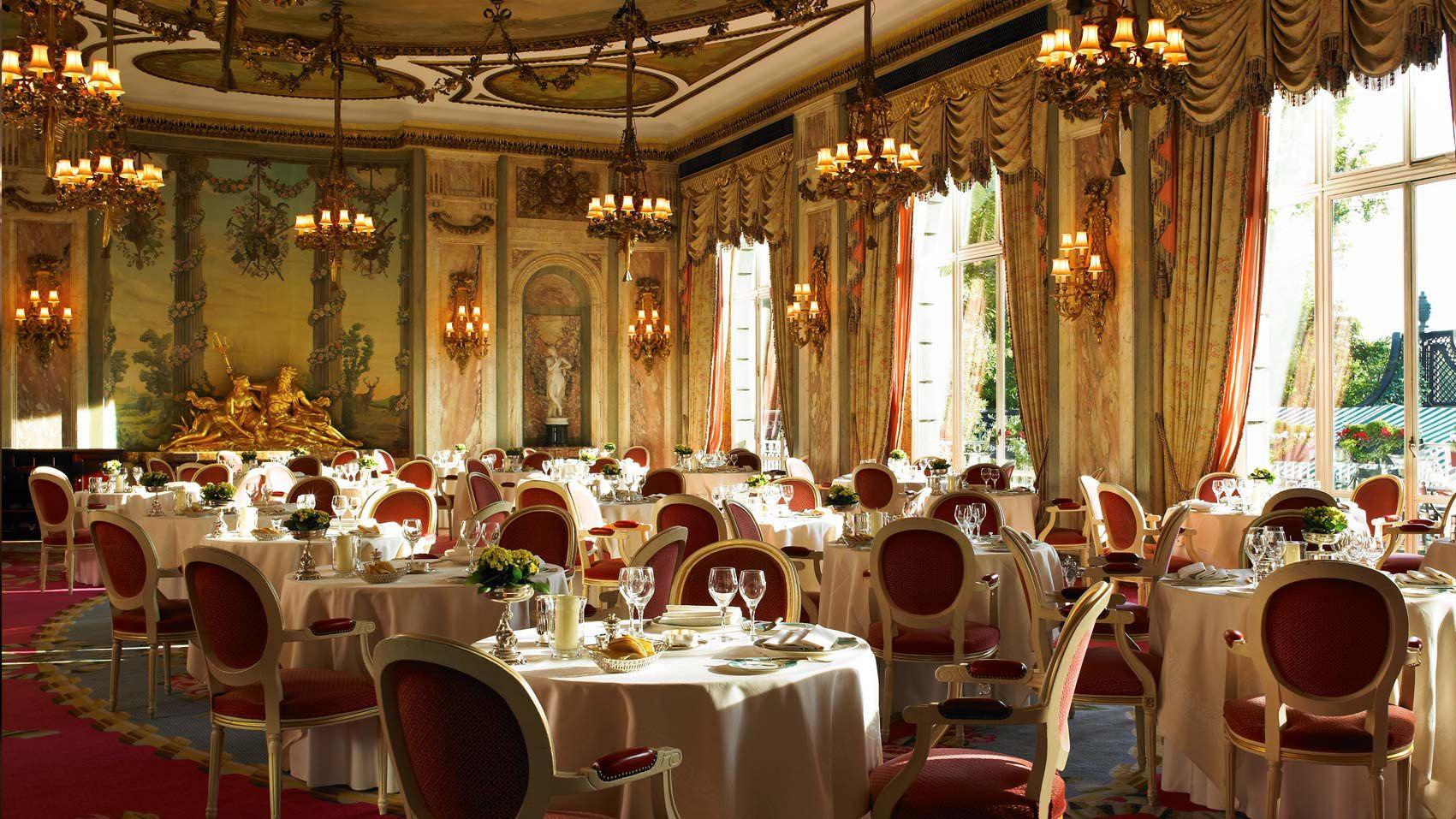 El grandioso salón del Ritz Restaurant, en Londres