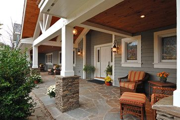 Pin By Michael Fisher On Front Porches Front Porch Makeover