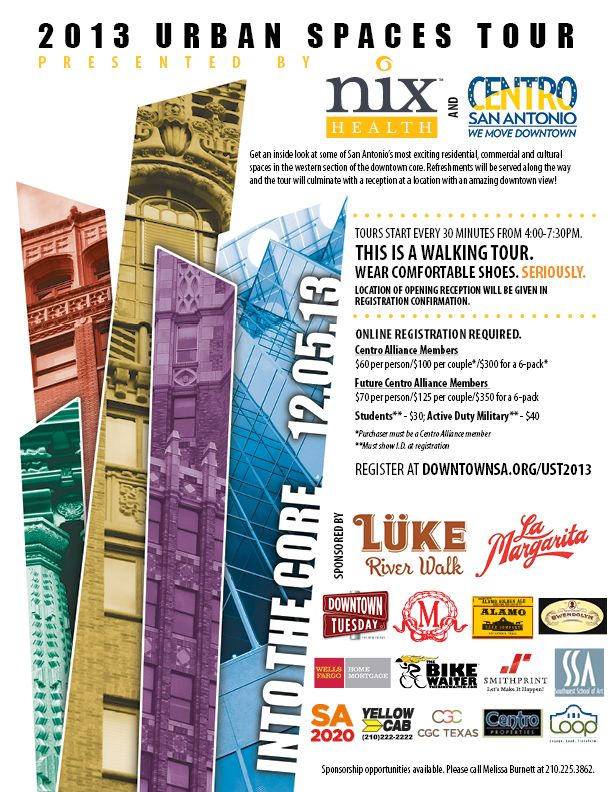 We Re Excited To Be A Sponsor For The Centro San Antonio Urban