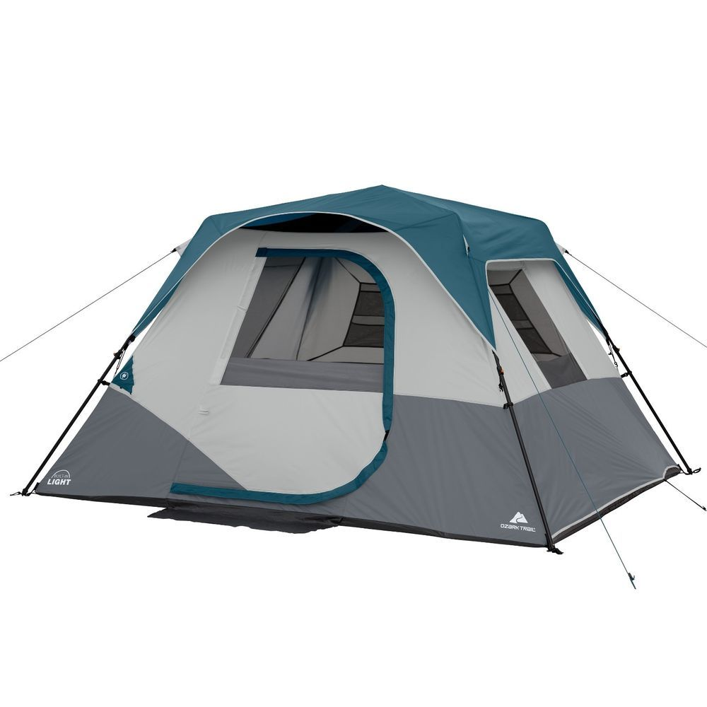 Instant Cabin Camping Tent 6 Person Family Outdoor Pop Up