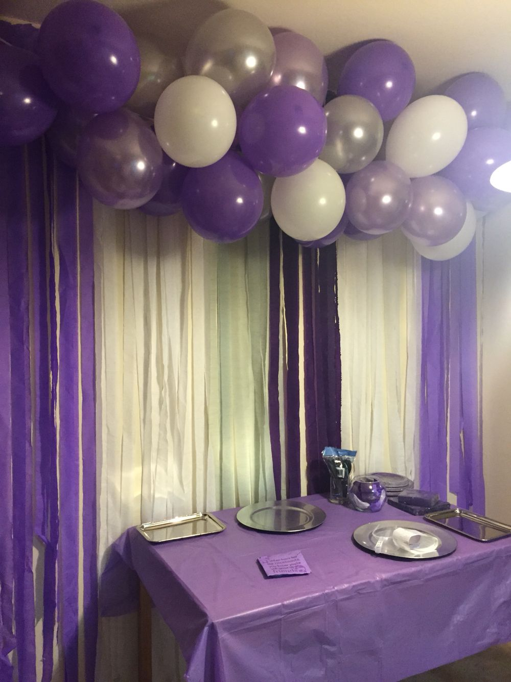 Cheap Purple Decorations For Living Room: Cheap Easy Diy Decorations. All You Need Is Tape