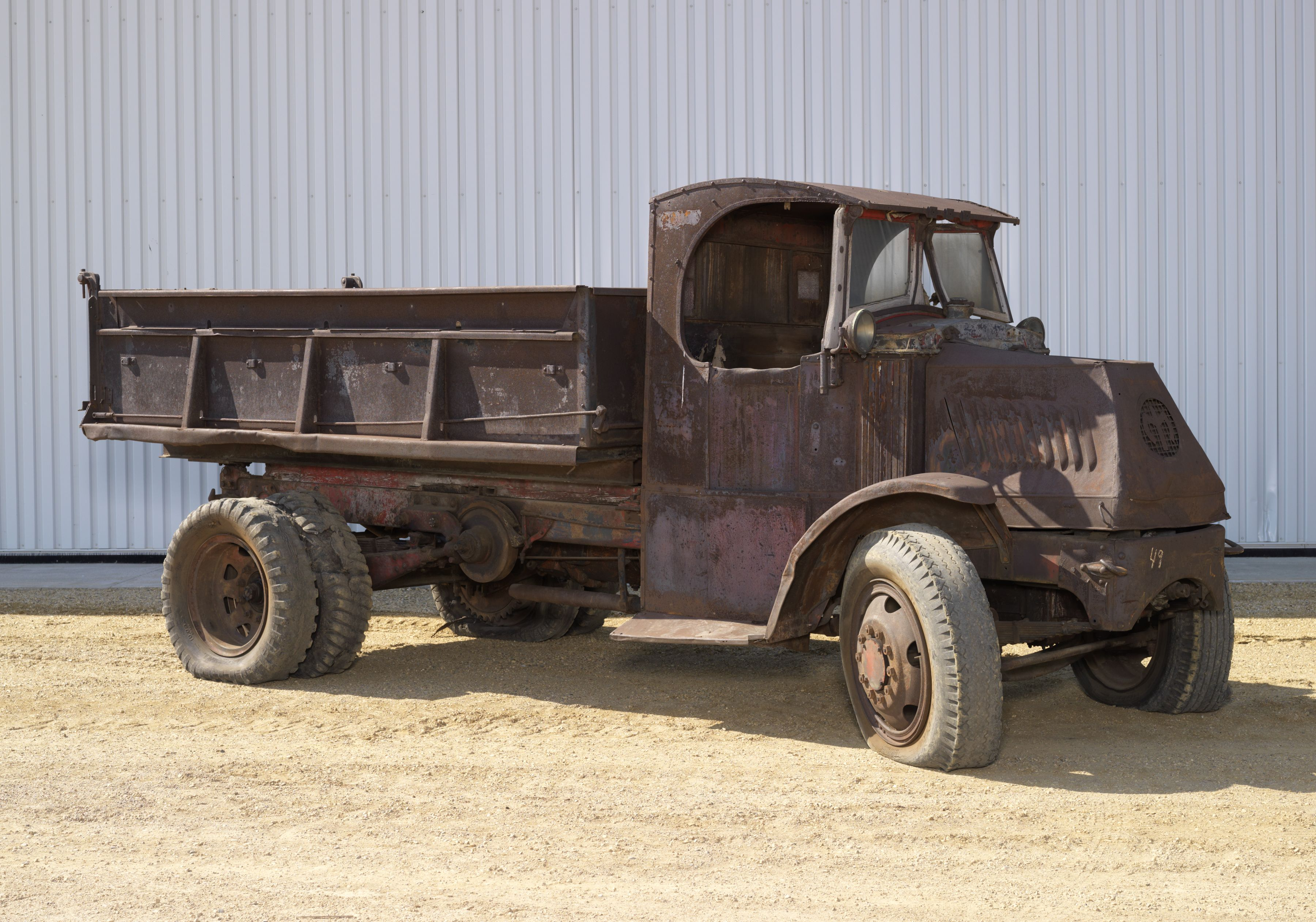 medium resolution of 1926 mack model ac bulldog 5 ton truck with dump box mack built