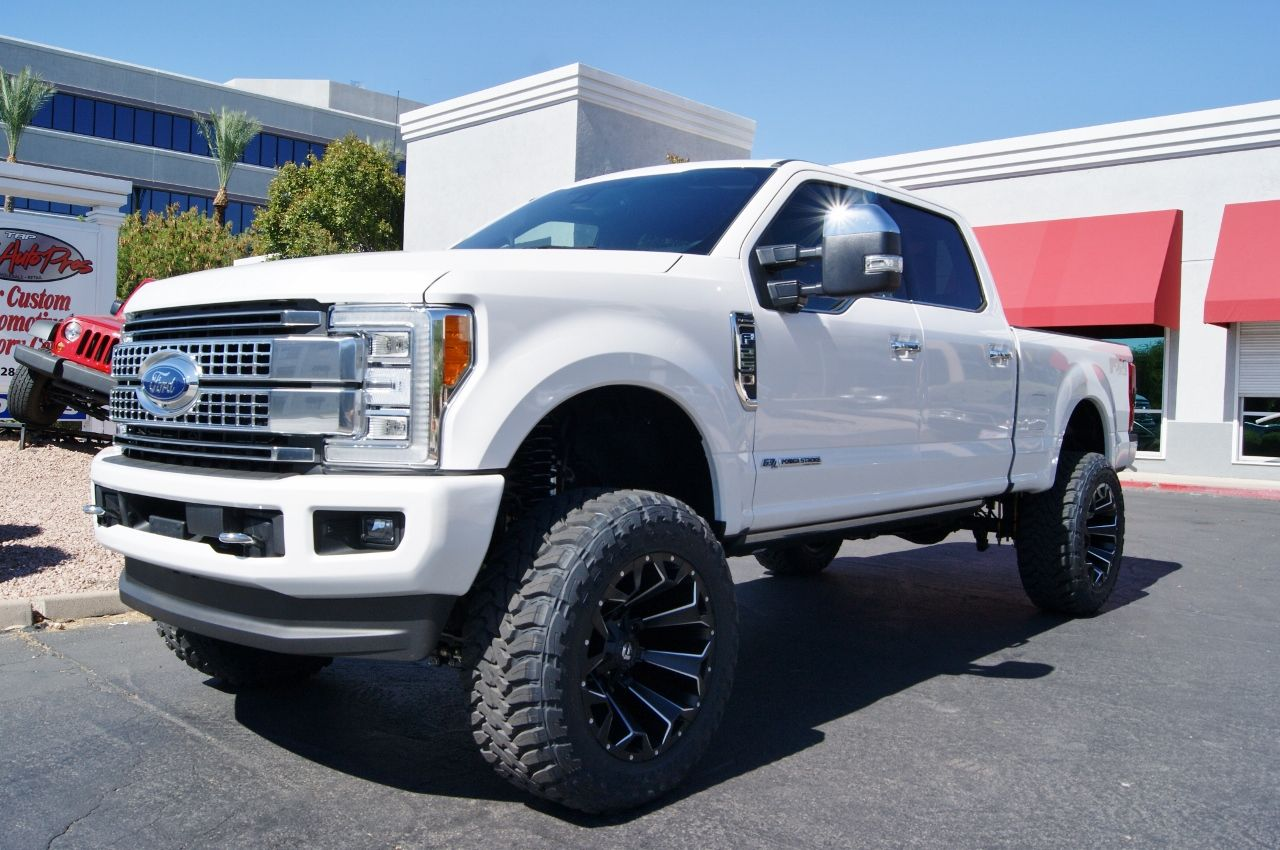 small resolution of 2017 ford f250 platinum fabtech 6 lift kit with dirt logic shocks k2217dl 22x12 44 offset fuel off road assault wheels d54622201747 37x13 50r22 toyo