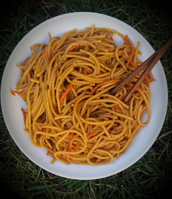 Savvy Chef: 5 Ingredient Asian Noodles