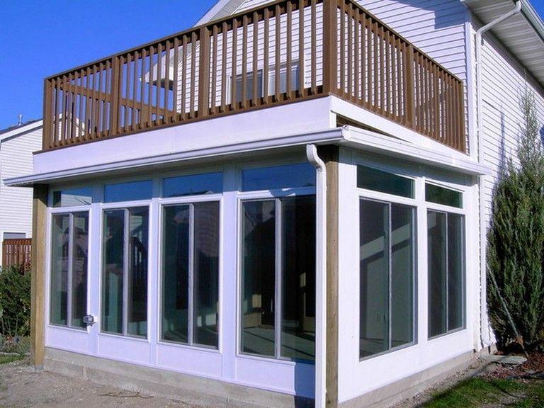 45 Inspiring Second Floor Deck Design Ideas Dutch Colonial
